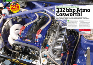 feature in Classic Ford Magazine