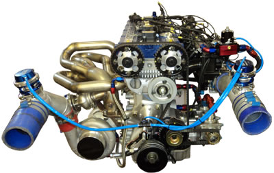 Cosworth YB Engine with Smith and Jones Head