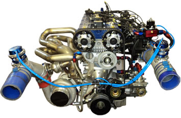 Cosworth YB engine with Smith and Jones head and block
