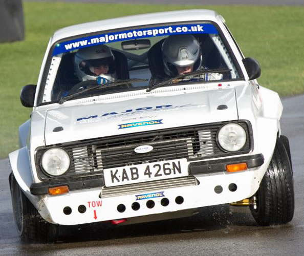 Simon Mauger Mk2 Escort Rally Car
