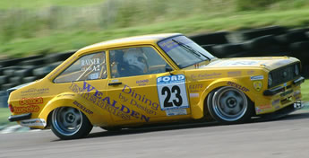 Craig Rainer's JEMS designed and built Ford Escort