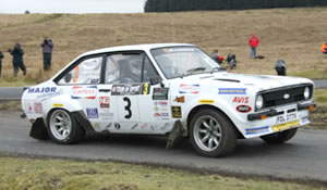 Simon Mauger Mk2 Ford Escort Rally Car